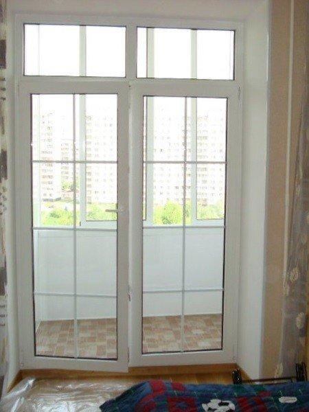 Штульповая дверь с раскладкой