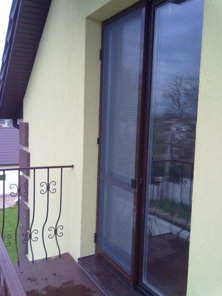 Штульповая дверь в частный дом