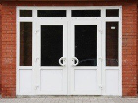 Тонированные штульповые двери