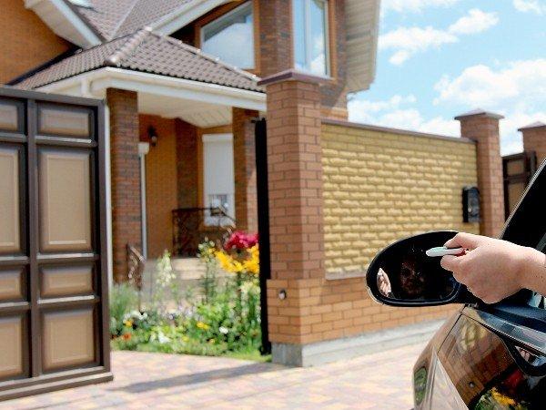 Установка автоматических ворот для дома и бизнеса