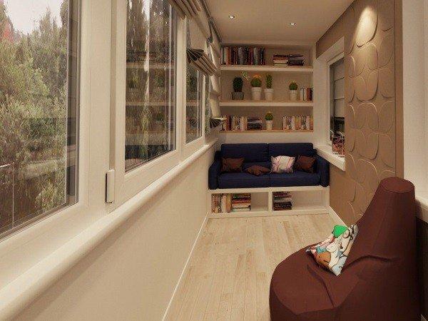 Утепление и отделка балконов от производителя окон