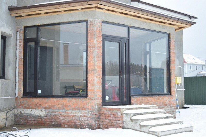 Дешёвые алюминиевые окна для веранд