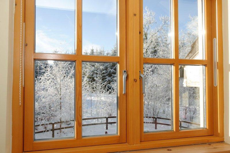 Окна деревянные в кредит