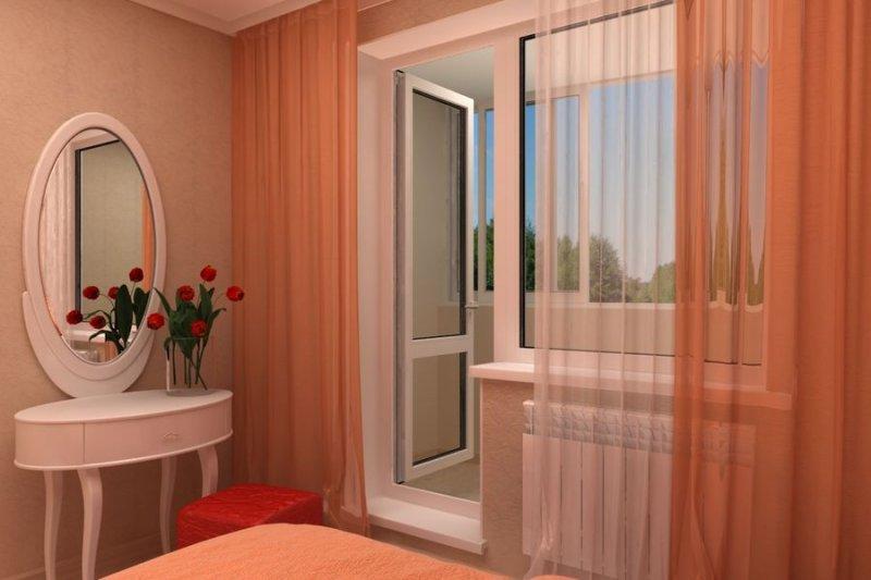 "Двери ""Рехау"" на балкон"