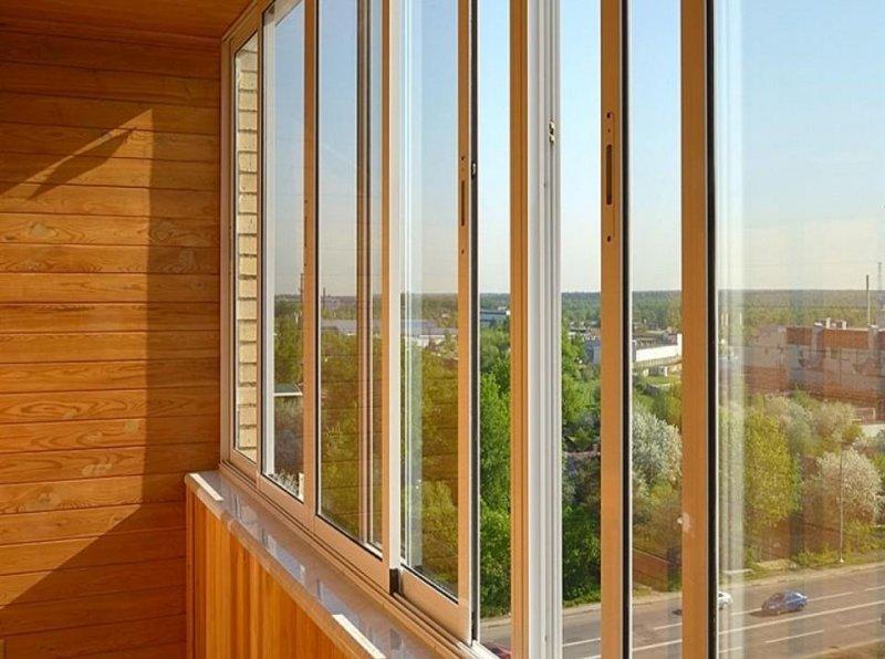 остекление балкона или лоджии квартиры