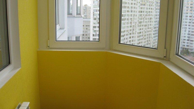 Установка гипсокартона на балкон под ключ
