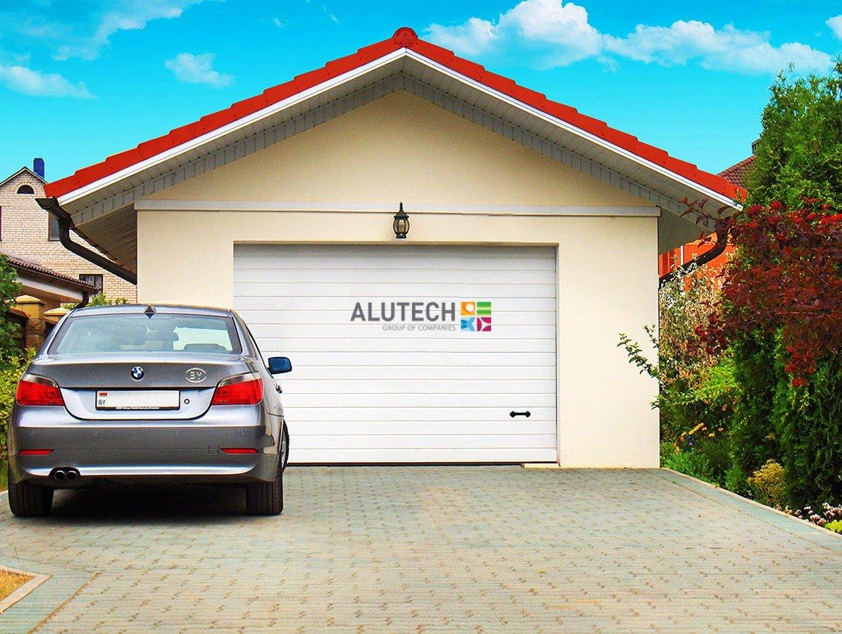 Цена автоматических ворот Alutech