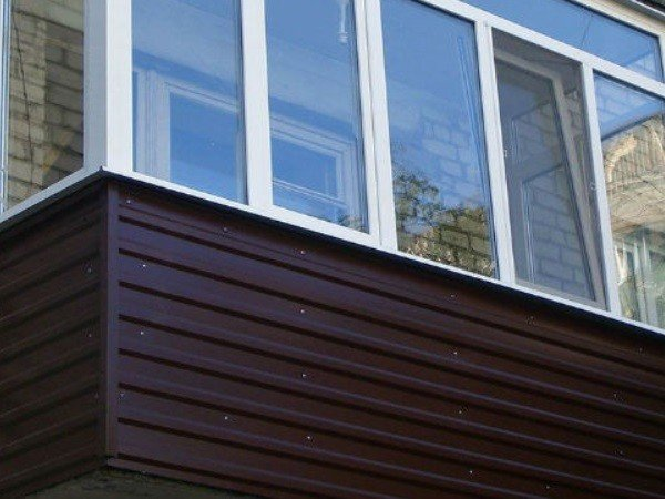 профлист балкон