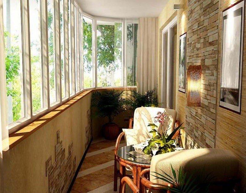 Ремонт и остекление тёплых балконов