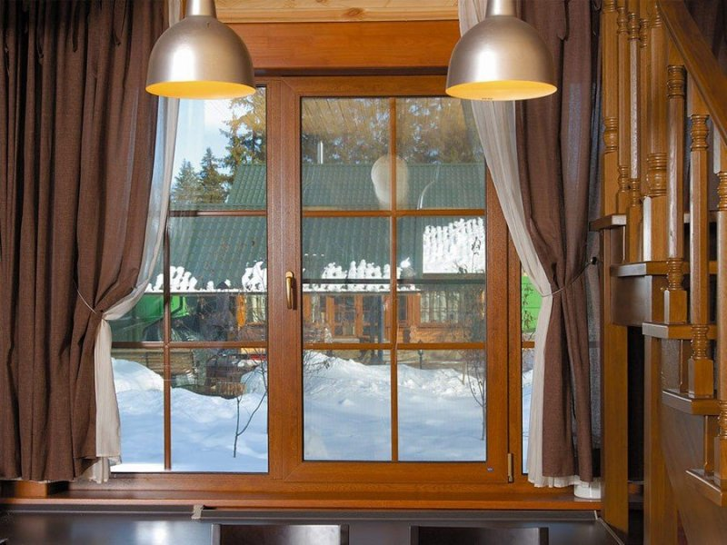 Деревянные или ПВХ окна под заказ