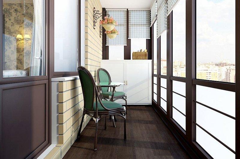 Ремонт и остекление балконов или лоджий