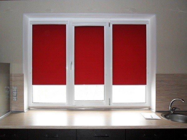 Окна в Щелково с жалюзи