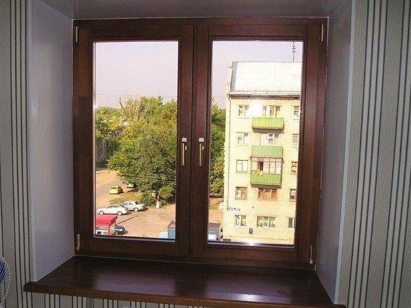 Окна в Видное ламинированный профиль