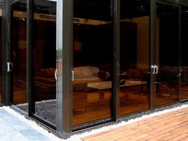 балконная дверь тонированный стеклопакет
