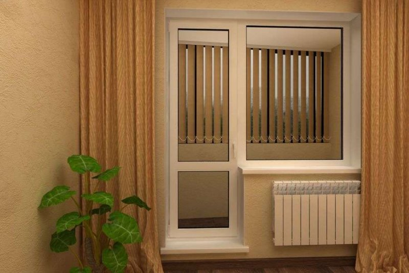 Замена балконного блока ПВХ