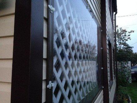 мягкие окна вблизи