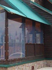 Мягкие окна наши работы фото