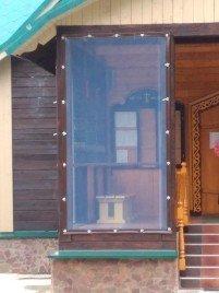 Мягкие окна наши работы
