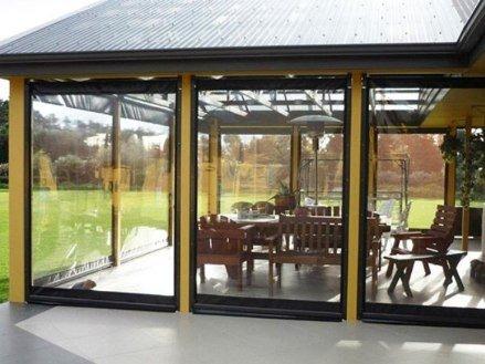 Мягкие окна для веранд и террас