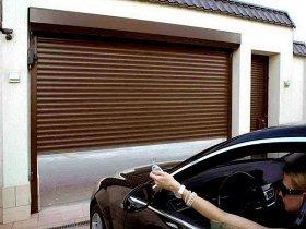 Автоматические гаражные рольставни