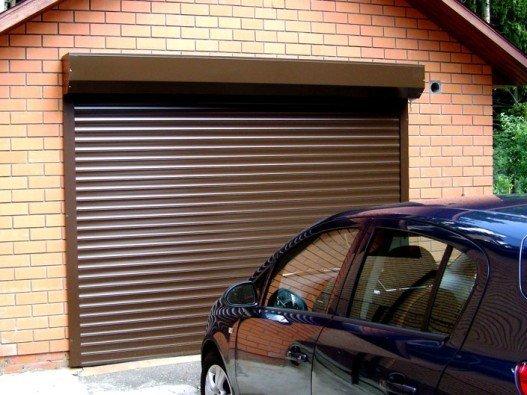 Рольставни гаражные