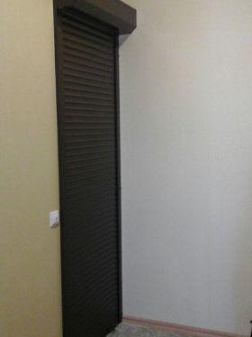 Рольставни на двери фото