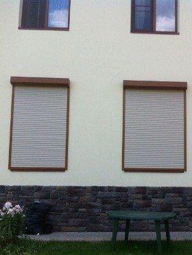 Металлические рольставни на окна цена