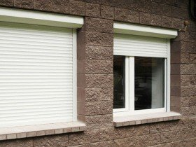 Рольставни на пластиковые окна