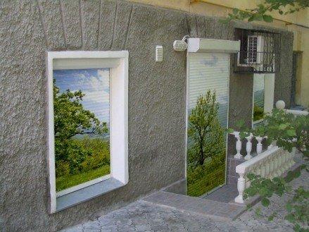 Рольставни с фотопечатью на окна и двери