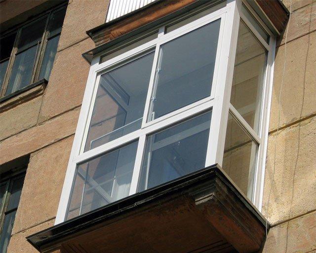 Полутеплый профиль для панорамного застекления балкона