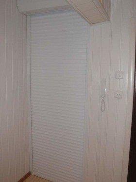Роллеты вместо двери