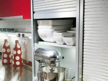 Рольставни для квартиры на кухню