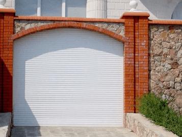 Рулонные ворота для забора
