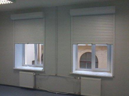 Внутренние рольставни на окна в квартире