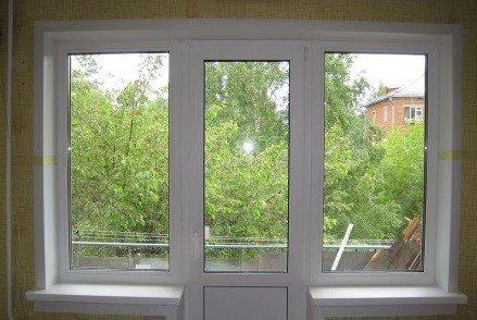 Балконный блок для хрушевки