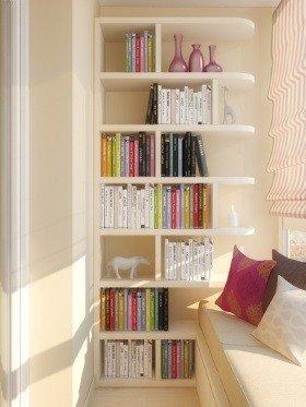 Полка балконная книжная