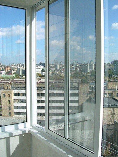 Купить алюминиевые окна в Москве