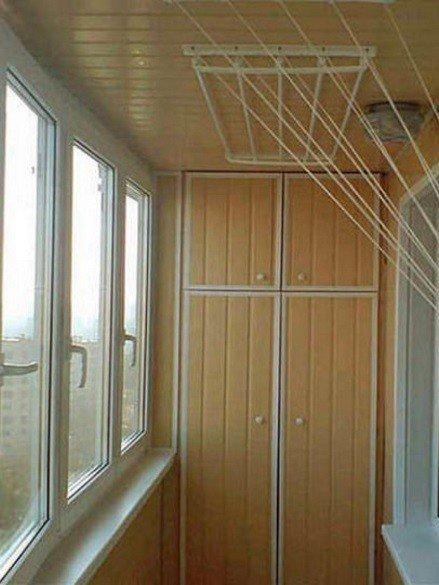 На теплом балконе