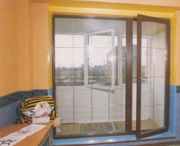 Нестандартные балконный блок
