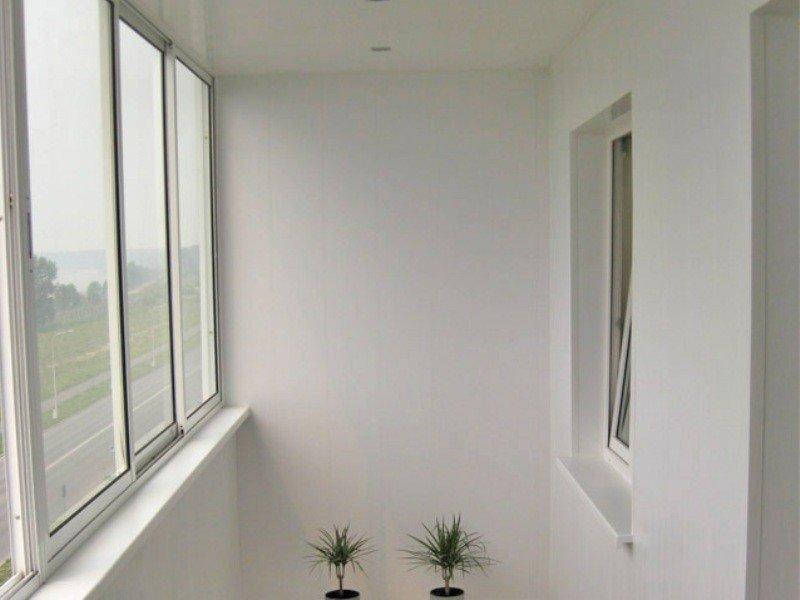 Отделка балкона стандарт цена