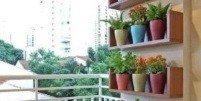 Подвесные полки на балкон