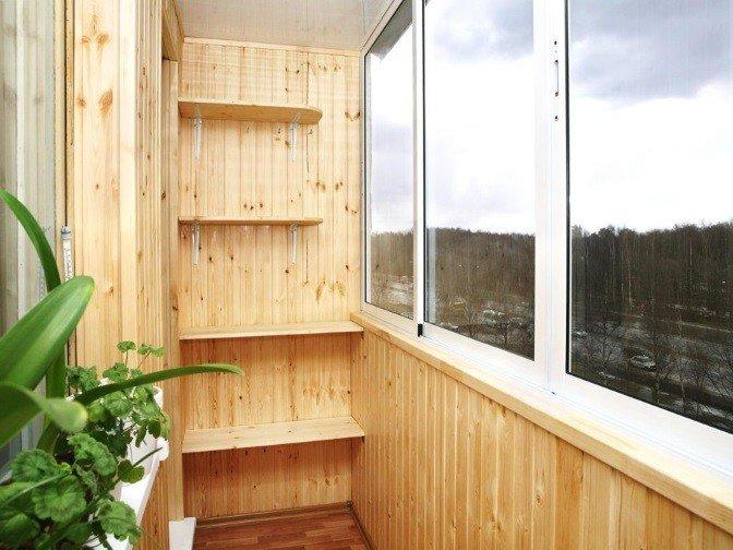 Полки на балкон под заказ