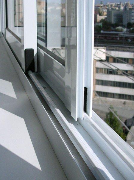 Раздвижные алюминиевые окна купить в Москве