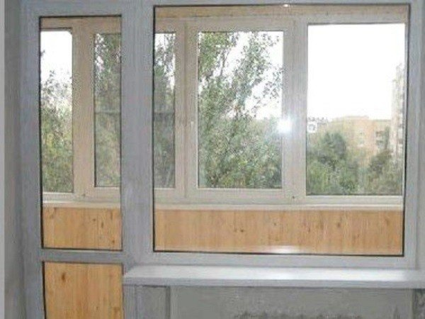 Балконный блок стандарт