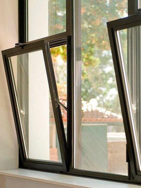 Теплые алюминиевые окна купить в Москве