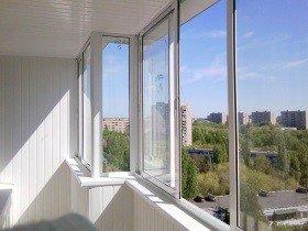 Окна на лоджии алюминиевый профиль