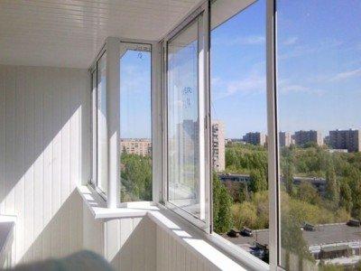Алюминиевые окна лоджия сапог