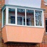 Балкон в хрущевке остекление с выносом