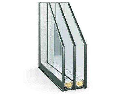 Купить стеклопакет для окна двухкамерный стеклопакет