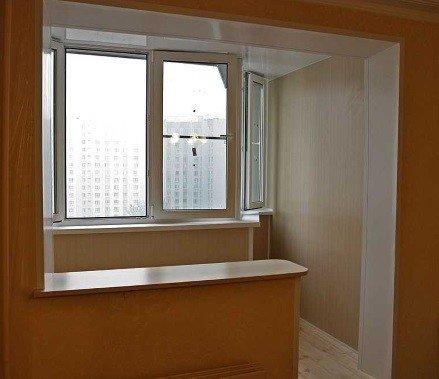 Идея остекления балкона